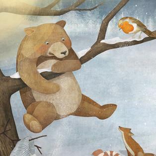 """""""Der kleine Bär und der Weihnachtsstern"""""""