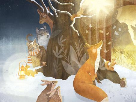 ADVENTSLESUNG für Kinder und Eltern mit der Kinderbuchillustratorin Jana Walczyk