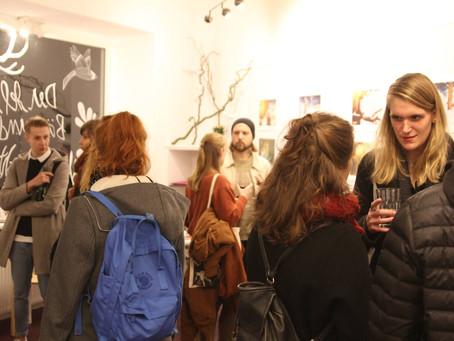 Ausstellung und Buchrelease im Enfants Artspace- Hamburg