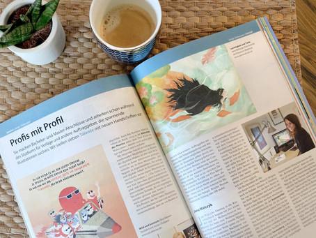 """Portrait im Magazin """"Buchmarkt"""""""