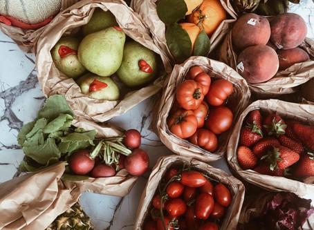FANCY FOOD: L'importanza di frutta e verdura