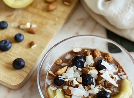 FANCY FOOD: Porridge freddo