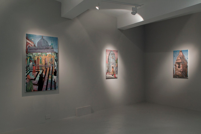 London solo exhibition: AT HAND AND FAR AWAY