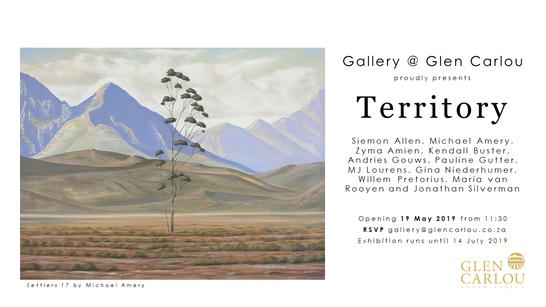 """Territory"" - Group show   Gallery @Glen Carlou"