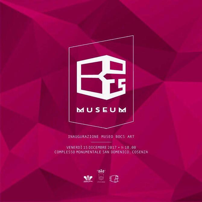 Opening of BoCs Contemporary Art Museum, Cosenza, Italy. 15th DEC 2017