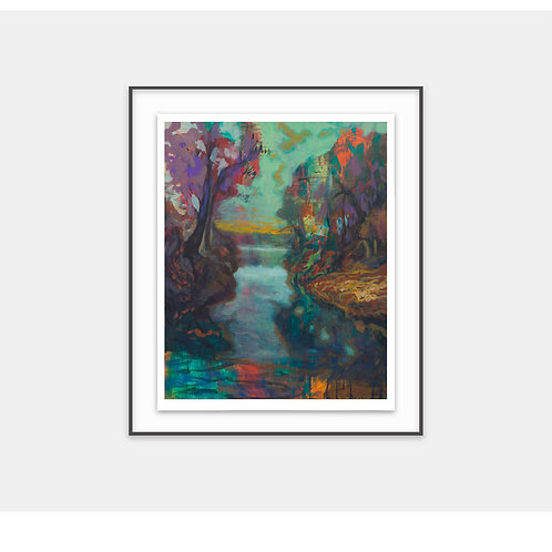 Tropic_stream / 2018 - Limited Edition Archival Fine Art Print