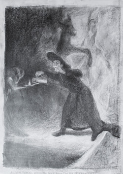 after goya The Forcibly Bewitched 42x30