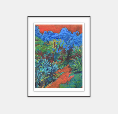 Composite Gardens 004 / 2017 - Limited Edition Archival Fine Art Print