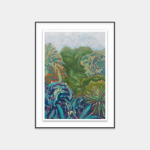 Composite Gardens / 2016 - Limited Edition Archival Fine Art Print