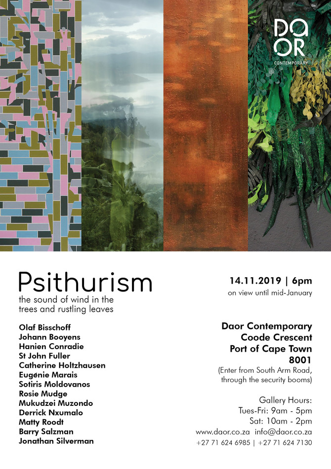 Psithurism - group show at DAOR Contemporary