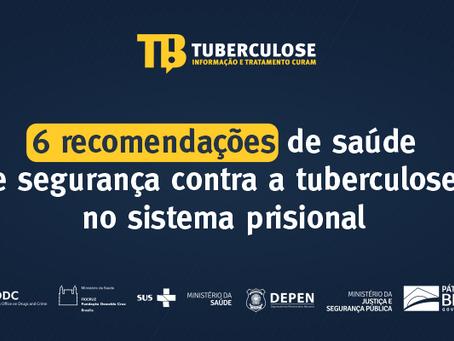 6 recomendações de saúde e segurança contra a tuberculose no sistema prisional