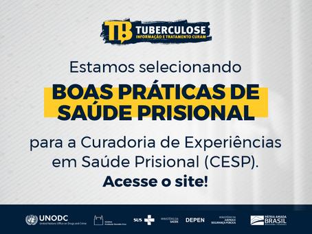 Depen e Fiocruz abrem chamada para divulgação de experiências em saúde prisional