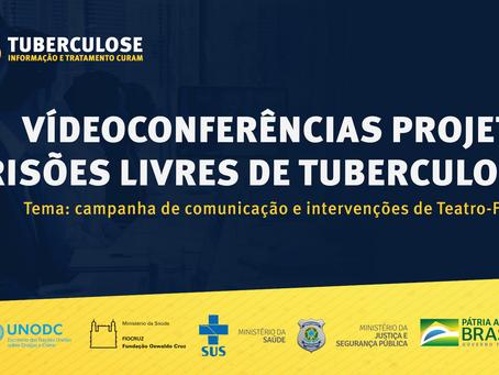 Depen realiza videoconferências para organização de ações de saúde nos estados brasileiros
