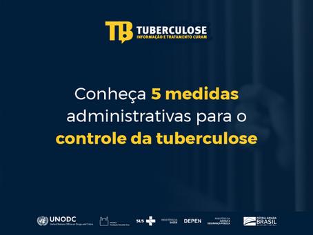 Conheça 5 medidas administrativas para o controle da tuberculose