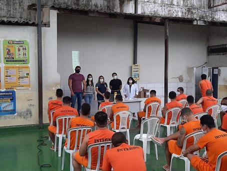 Projeto promove ações educativas sobre tuberculose no sistema prisional