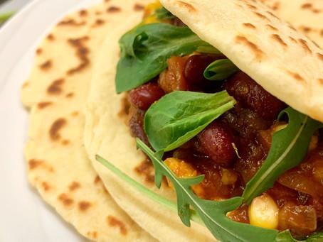 Notre Tacos végétarien