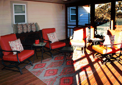 Ballards by the Lake Bed & Breakfast and Event Center, Deck