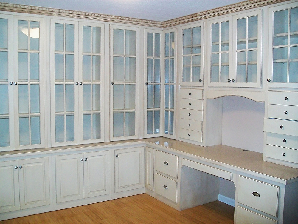 Custom Office Space with Built-ins