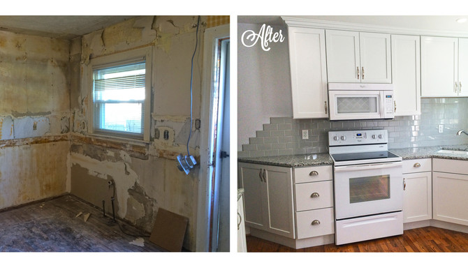 1950s Kitchen Remodel -A