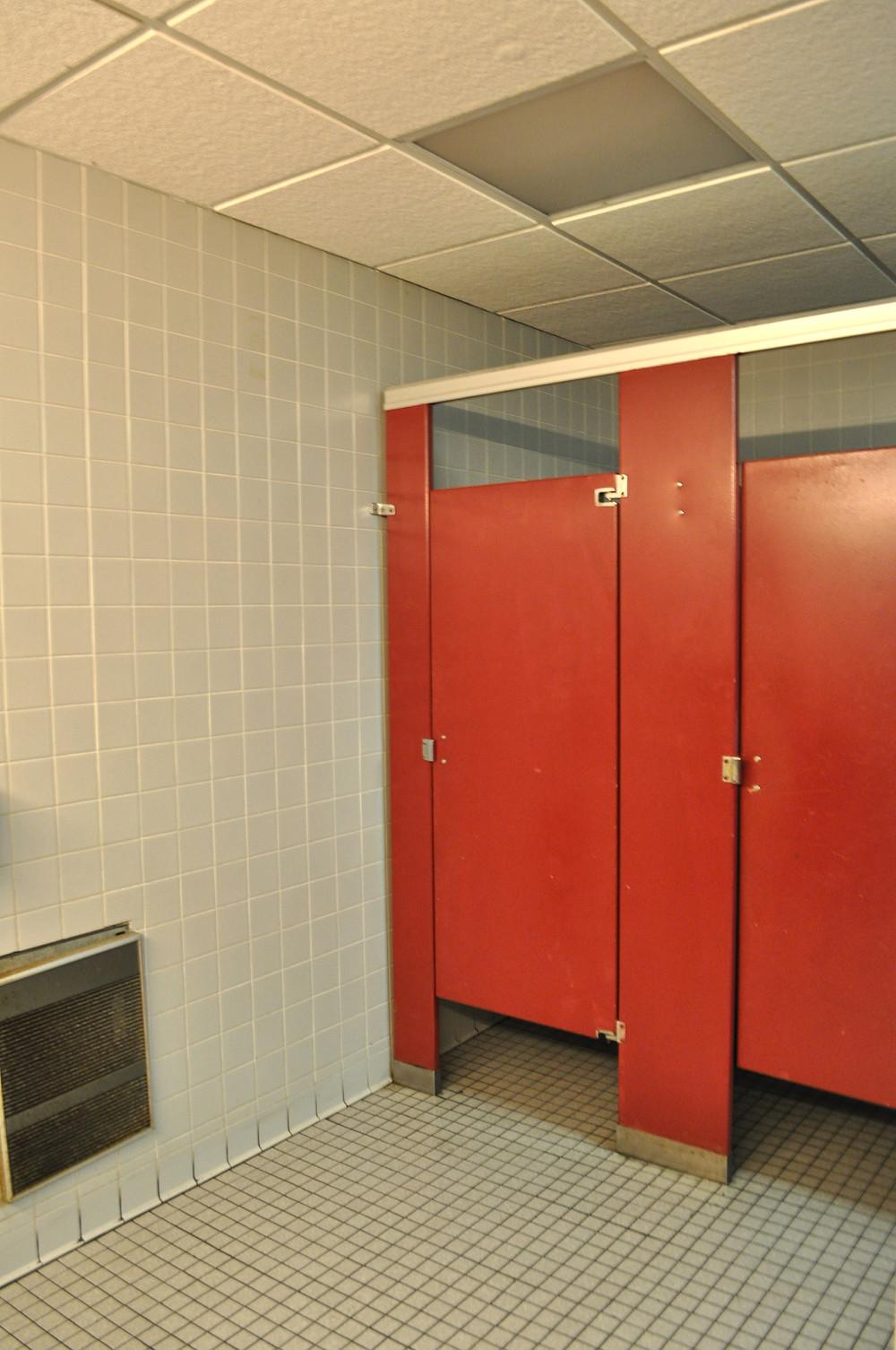 Womens Restroom Before