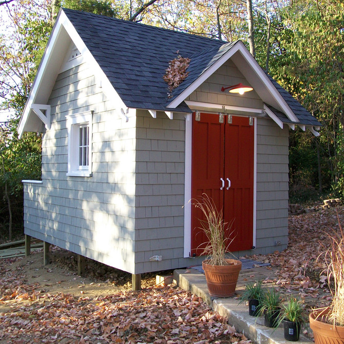 Outdoor Project - Custom Backyard Shed