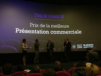 Prix de la meilleure présentation commerciale au Festival de Mérignac