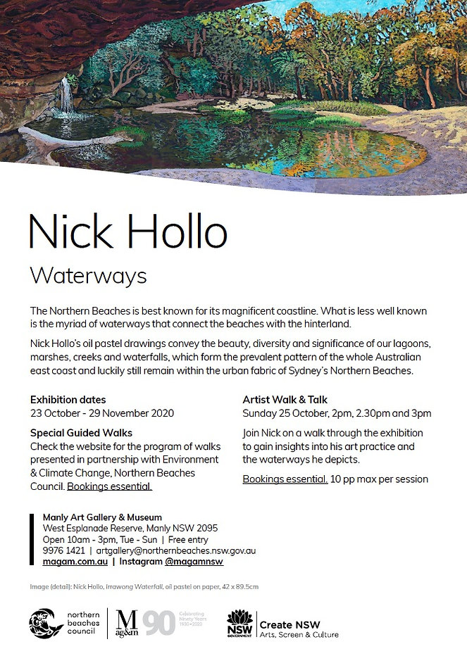 Waterways Exhibition Invitation