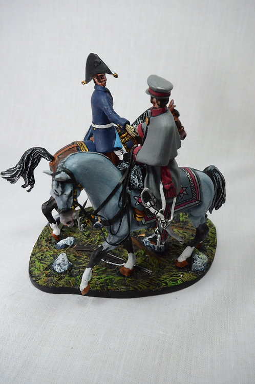 The Meeting Wellington and Blucher