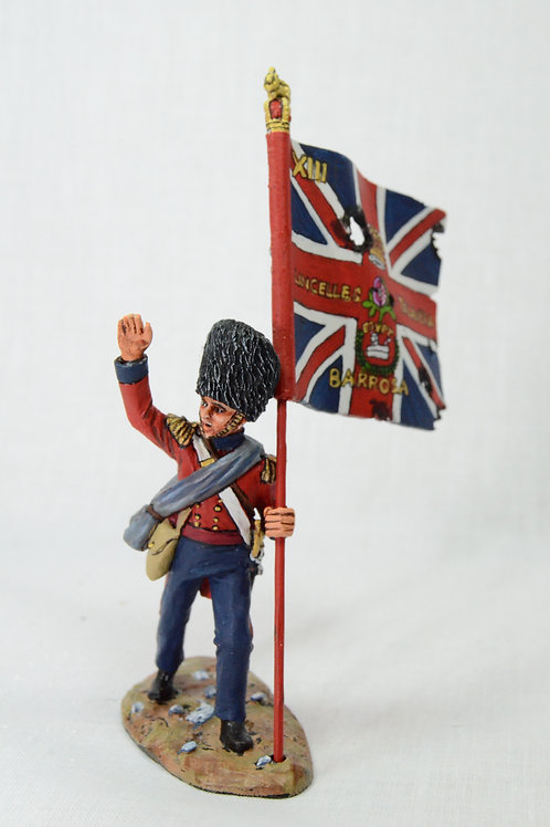 British Grenadier with standard