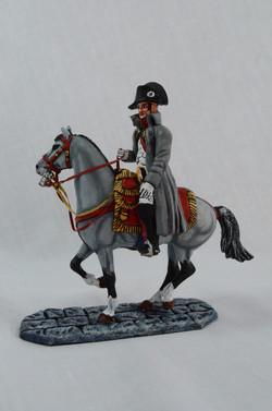 Napoleon in greatcoat