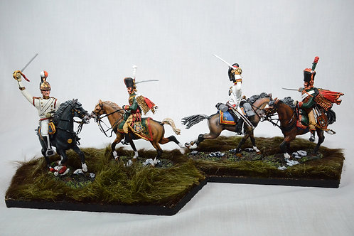 Austerlitz – French Chasseur A Cheval and Mameluks attack Russian