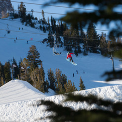 Middle Jump at Mammoth Mountain