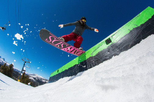 Front Board at Mammoth Mountain