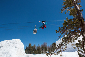 Method over the Channel, Mammoth Mountain