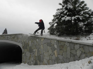 Lipslide in Mammoth Lakes