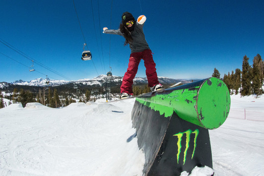 Side Hit 270 at Mammoth Mountain