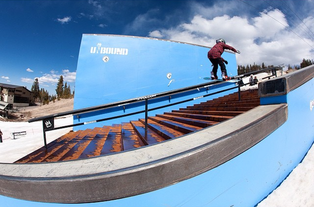 Frontboard 270 at PBRJ Finals, Mammoth Mountain
