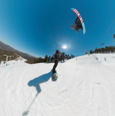 Jump at Big Bear Mountain Resort