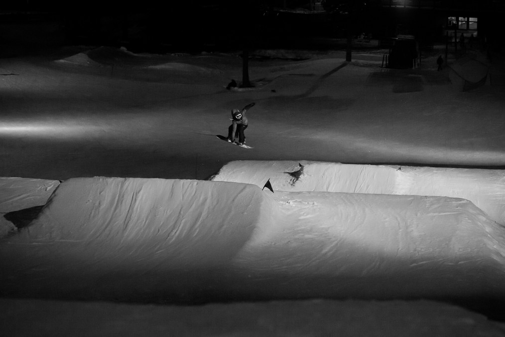 Front 360 at Boreal Night Session