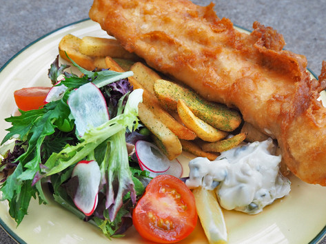 Grouper or Halibut Fish & Chips