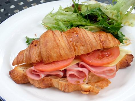 Ham, Cheese & Tomato Croissant
