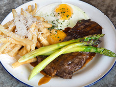Breakfast Steak & Eggs