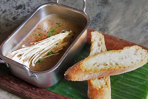 Wild Mushroom Soup (V)