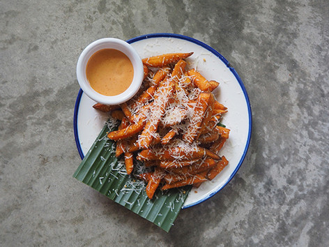 Sweet Potato Fries (V)