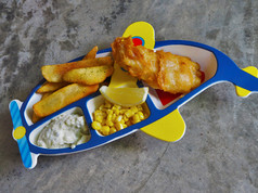 Junior Fish & Chips