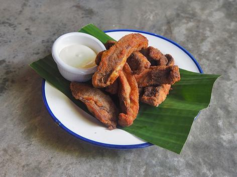 Portobello Fries (V)