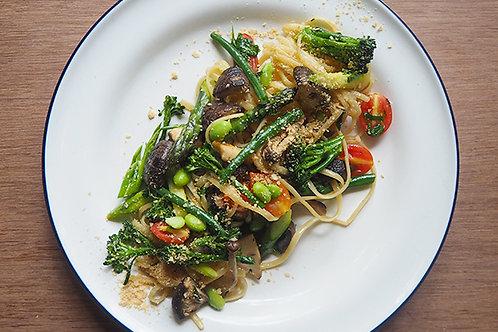 Vegetarian Aglio Olio (V)