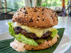 Wagyu Cheese Burger