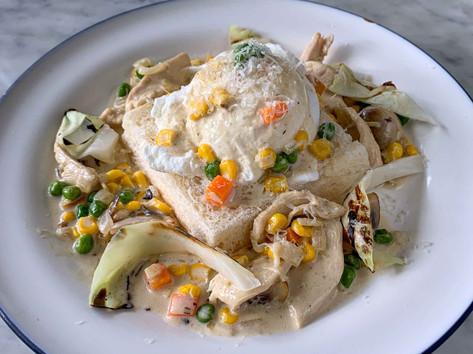 Heritage Chicken, Mushroom & Eggs *