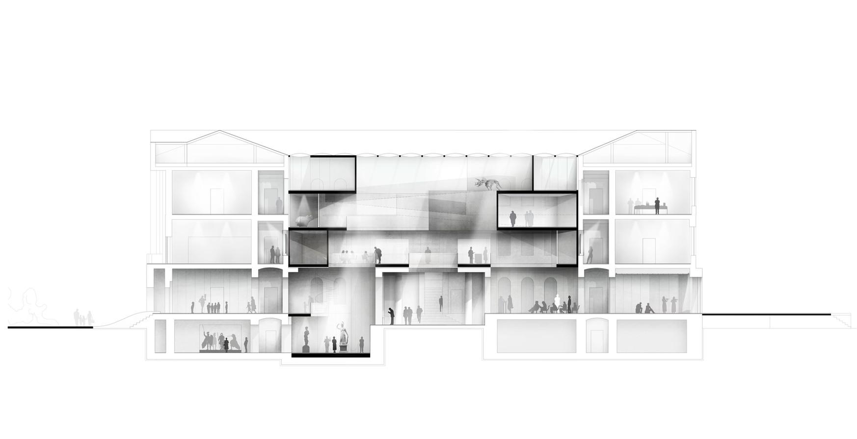 Contribution La Biennale di Venezia 2018, Palazzo Bembo, Museum Rudolfinum Klagenfurt, competition 2016